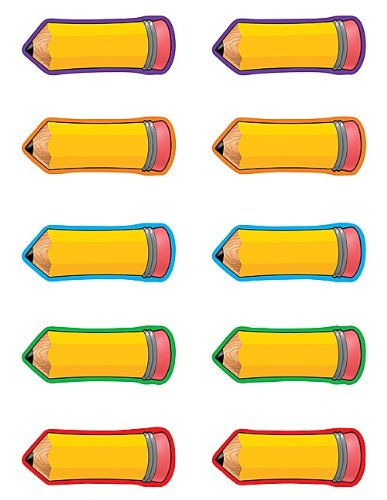 Teacher Created Resources Pencils Accents (4590)