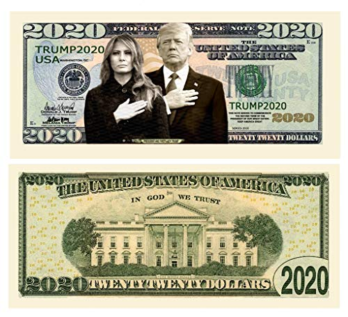 Pack Of 100 – Donald And Melania Trump 2020 Re-Election...