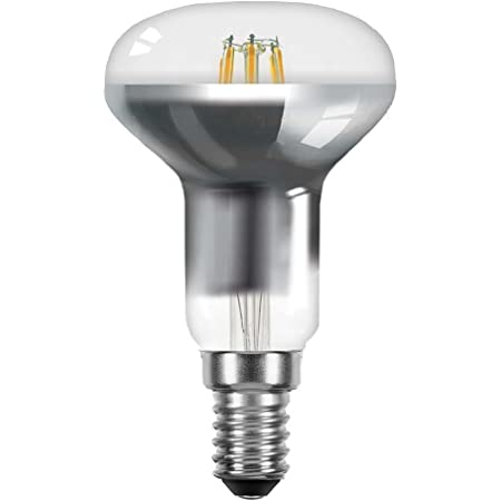 LED Filament Tropfen 4W = 40W E14 Klar Glühfaden extra warmweiß 2200K DIMMBAR