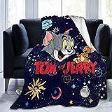 SL-YBB Tom y Jerry - Manta para cama de bebé (1,135 x 200 cm), diseño de dibujos animados