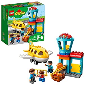 LEGO DUPLO Town Airport 10871 Building Blocks (29 Pieces) - 51fd0iXi5mL - LEGO DUPLO Town Airport 10871 Building Blocks (29 Pieces)