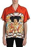 (アミリ) AMIRI ジミヘンドリックスグラフィックシルクシャツ man`s shirt (並行輸入品)
