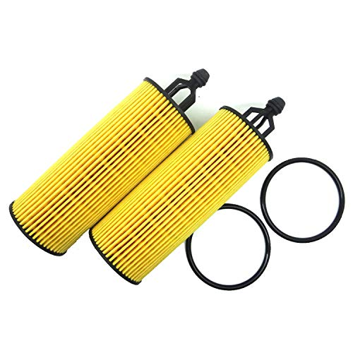 2 Pack EXtended Performance Oil Filter Fit for 2014 Dodge Ram Chrysler Jeep 3.6l Pentastar Engines OEM for 2014 Wranglers 2015 Dodge Grand Caravan The 2016 Jeep JKU with 3.6 V6 Engine