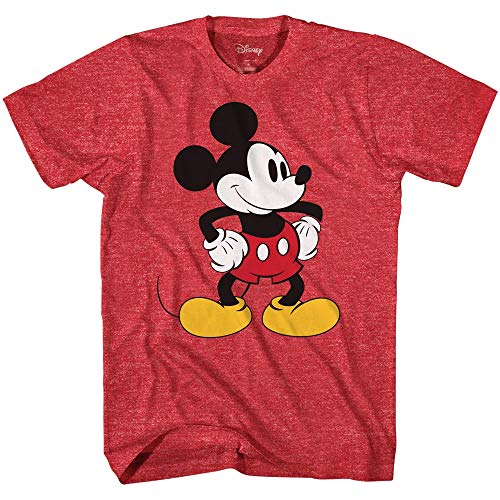Mickey Mouse Tones Graphic Tee Vintage Disneyland Camiseta para hombre adulto