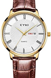 EYKI Dress Watch For Men Analog Leather - E1090L