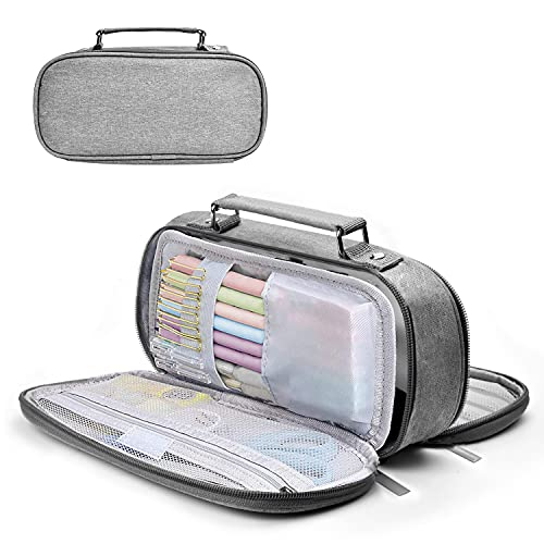 CASEKEY Large Capacity Pencil Case Pencil Pouch School Supplies Gifts for Middle High School College Students,Pencil Box Pen Holder,Desk Organizer Office Organization Makeup Bag for School Office home