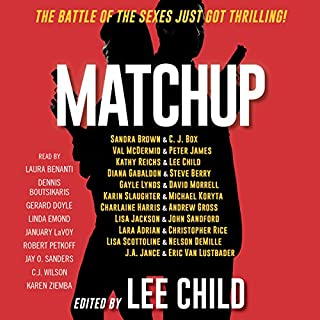 MatchUp audiobook cover art