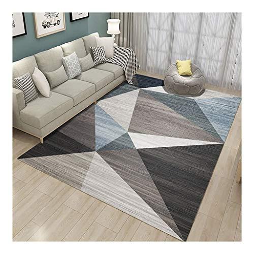 La alfombra Modelos geométricos Absorbente Antideslizante Blended Tel