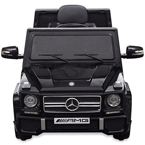 RC Auto kaufen Kinderauto Bild 6: vidaXL Kinderauto 2 Motoren 2x15W Schwarz Kinder Elektroauto Kinderfahrzeug*