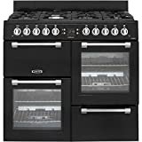Image of Leisure CK100G232K 100cm Cookmaster Gas Range Cooker Black