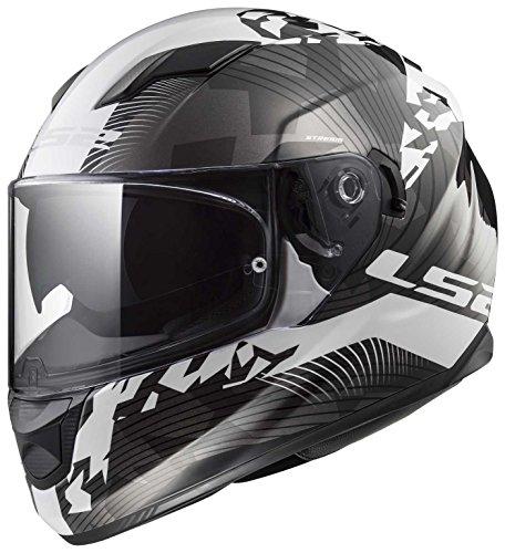 LS2 ff320 Stream Evo double visière moto casque intégral Casque Casque de casque