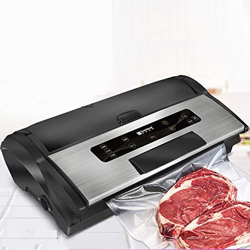 LSSLA Automatische Vakuumiermaschine Haushalts- Und Gewerbliche Versiegelungsmaschine Intelligenter Lebensmittelverpacker Mit Trockenem Und Nassem Verwendungszweck,Upgrade Models