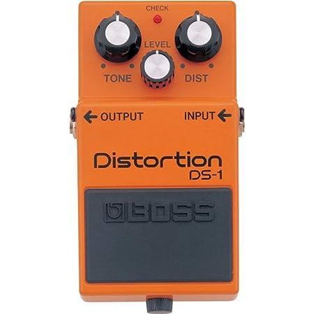BOSS Distortion Guitar Pedal, Single Mode (DS-1)