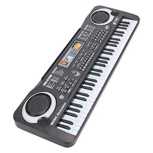 Piano for Kids, aPerfectLife 37 Key Multi-function Electronic Keyboard Piano Play Kids Piano Organ (Black1)