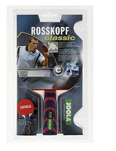 JOOLA Tischtennis Tischtennisschläger ROSSKOPF Classic Tischtennischläger, mehrfarbig, Einheitsgröße