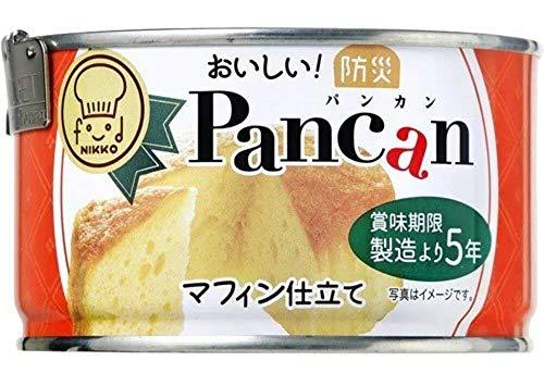 日興食品 5年保存おいしい!防災Pancanマフィン仕立て 24缶セット
