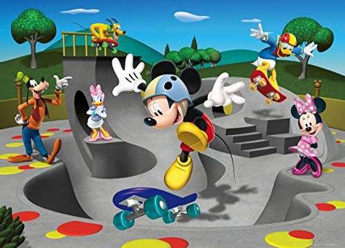 AG Design Disney Mickey Mouse Fototapete, Vlies, Bunt, 160 x 110 cm