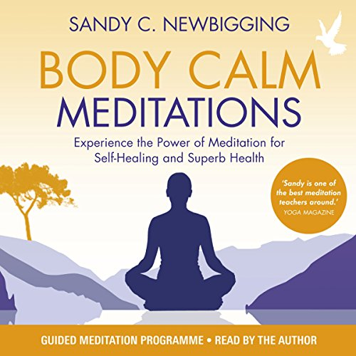 Body Calm Meditations audiobook cover art