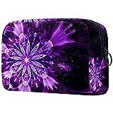 Bolsa de cosméticos para mujeres, adorables bolsas de maquillaje espaciosas para viajes, accesorios para regalos, flores antiguas