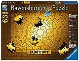 Krypt Gold. Puzzle 631 Teile: Die Herausforderung! Puzzeln ohne Bild, nur nach Teileform