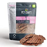 Pet Craft Supply Wild Caught Pure Dehydrated Pacific Salmon Packed with Salmon Oil Natural Dog Treats Alternative to Freeze Dried Healthy Dog Treats Small Dogs Treats for Medium Dogs and Cat Treats