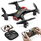 Syma X400 Mini Drone with Camera for Adults & Kids 720P Wifi FPV Quadcopter with App Control, Altitude Hold, 3D Flip, One Key Function, Headless Mode, 2 Batteries, Easy to Fly for Beginners