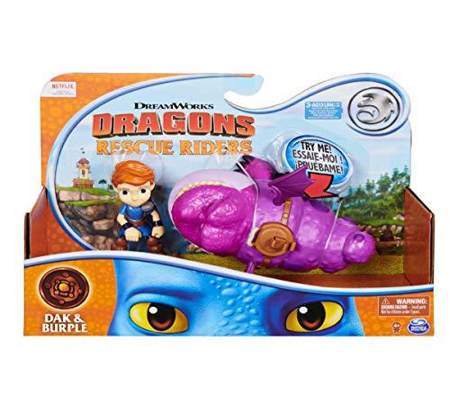 DreamWorks Dragons Rescue Riders - Dak and Burple