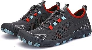 Waterschoenen Mens Barefoot Sneldrogend Lichtgewicht Barefoot Beach Shoes(Size:42,Color:Dark gray)