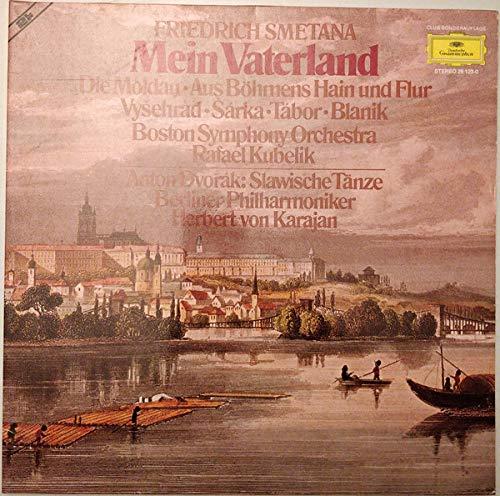 Bedrich Smetana , Boston Symphony Orchestra , Rafael Kubelik , Antonín Dvorák , Berliner Philharmoniker , Herbert von Karajan - Mein Vaterland / Slawische Tänze - Deutsche Grammophon - 26 123-0
