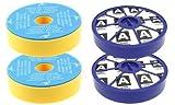 First4spares Kit de Filtres Lavable Pré Moteur et Après Moteur, Allergie HEPA Kit de Filtres pour...