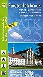 ATK25-N10 Fürstenfeldbruck (Amtliche Topographische Karte 1:25000): Olching, Schwabhausen, Puchheim, Mammendorf, Maisach, Odelzhausen (ATK25 Amtliche Topographische Karte 1:25000 Bayern)