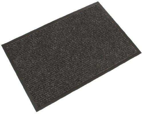 COBA Schmutzfangmatte, gerippt - LxB 1800 x 1200 mm - anthrazit - Anti-Rutschmatte Bodenmatte Bodenschutzmatte Fußbodenmatte Fußbodenmatten