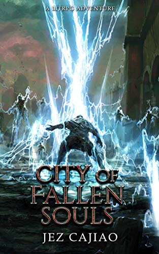 City of Fallen Souls: A LitRPG Adventure (UnderVerse Book 3) steampunk buy now online