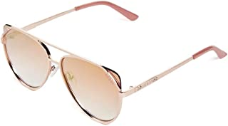 GUESS Factory Women's Flat-Front Aviator Sunglasses