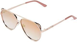 GUESS Factory Women`s Flat-Front Aviator Sunglasses