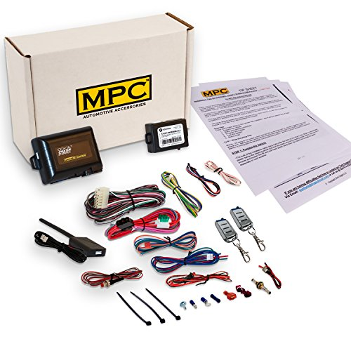 MPC Complete Remote Start Kit with Keyless Entry for 1997-2001 Ford Expedition -...