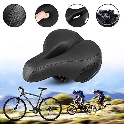 Fahrrad Fahrrad breit Big Bum Soft Extra Komfort Radfahren Dual Spring Sattel Si