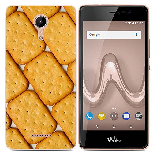 Easbuy Handy Hülle Soft Silikon Hülle Etui Tasche für Wiko Tommy 2 Plus Tommy2 plus Smartphone Cover Handytasche Handyhülle Schutzhülle