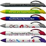 Greeting Pen Nurse Appreciation 6 Designs Rotating Message 6 Pen Set (36067)