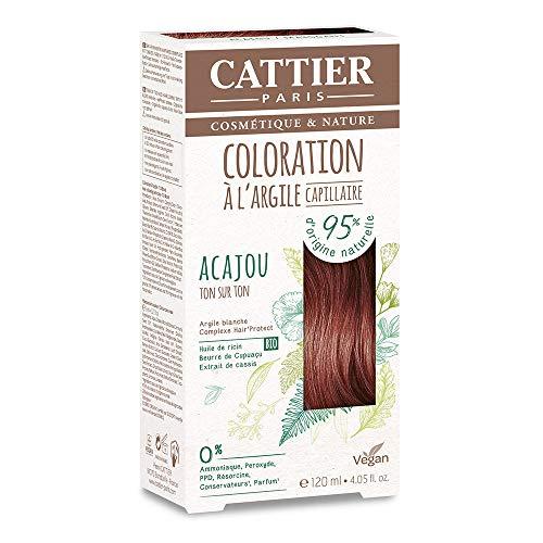 Cattier Kit Coloration Capillaire à l'Argile - Acajou