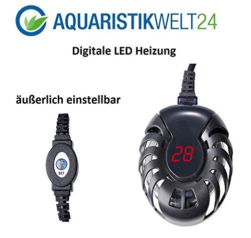 75 Watt digitale Aquarium Heizung bis 200l Aquarien, Heizstab, Heizer, Regelheizer, Süß & Meerwasser - 2