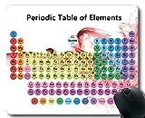 Yanteng Almohadillas para Mouse, Tabla periódica de Elementos 2019 Almohadilla para Mouse para Juegos, Tabla para Estudiantes serios, Maestros, Alfombrilla Grande y Gruesa