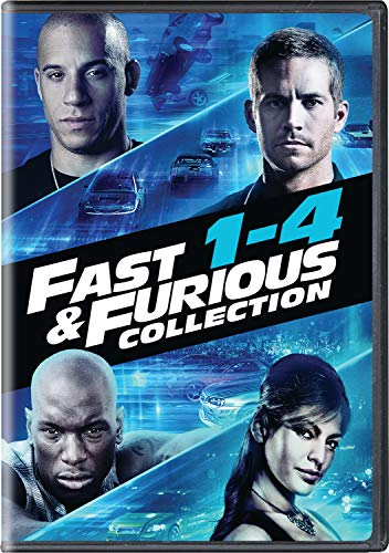 Fast & Furious Collection: 1-4 [DVD]