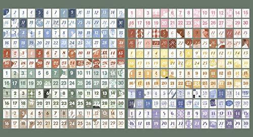 LUFASCAカレンダー2021日めくりカレンダーミニカレンダー手帳日記かわいい365日ミニサイズステーショナリー(グリーン)