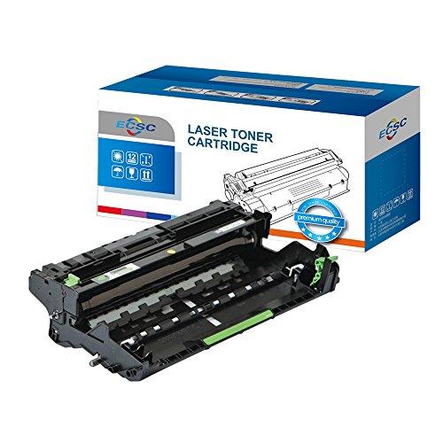 ECSC Trommeleinheit Patrone Ersatz für Brother DCP-L5500DN DCP-L6600DW HL-L5000D HL-L5100DN HL-L5100DNT HL-L5200DW HL-L5200DWT HL-L6300DW HL-L6300DWT HL-L6400DW HL-L6400DWT MFC-L5700DN DR-3400 (BK)