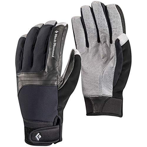 Black Diamond Arc Handschuhe für Kaltwetteraktivitäten / Warmer, wasserbeständiger Schneehandschuh aus grifffestem Material für Skitouren oder Bergsport / Unisex Black, Größe L