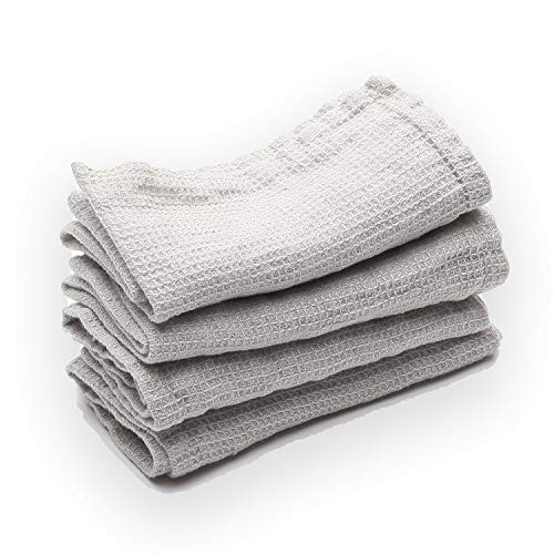 LinenMe Waffle Wash Cloths, 12