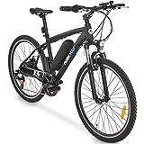 MOBICYLE Vélo électrique Noir - 250 Watts - Adulte - VTT - Batterie Amovible (XDLC Lithium Cell 36V8.8Ah)