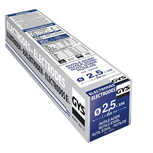 GYS 085039 230 Rutil-Elektroden Stahl, 0 W, 0 V