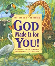"""God Made it for You"" book for children"